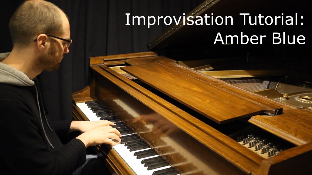 Amber Blue Improv Cap